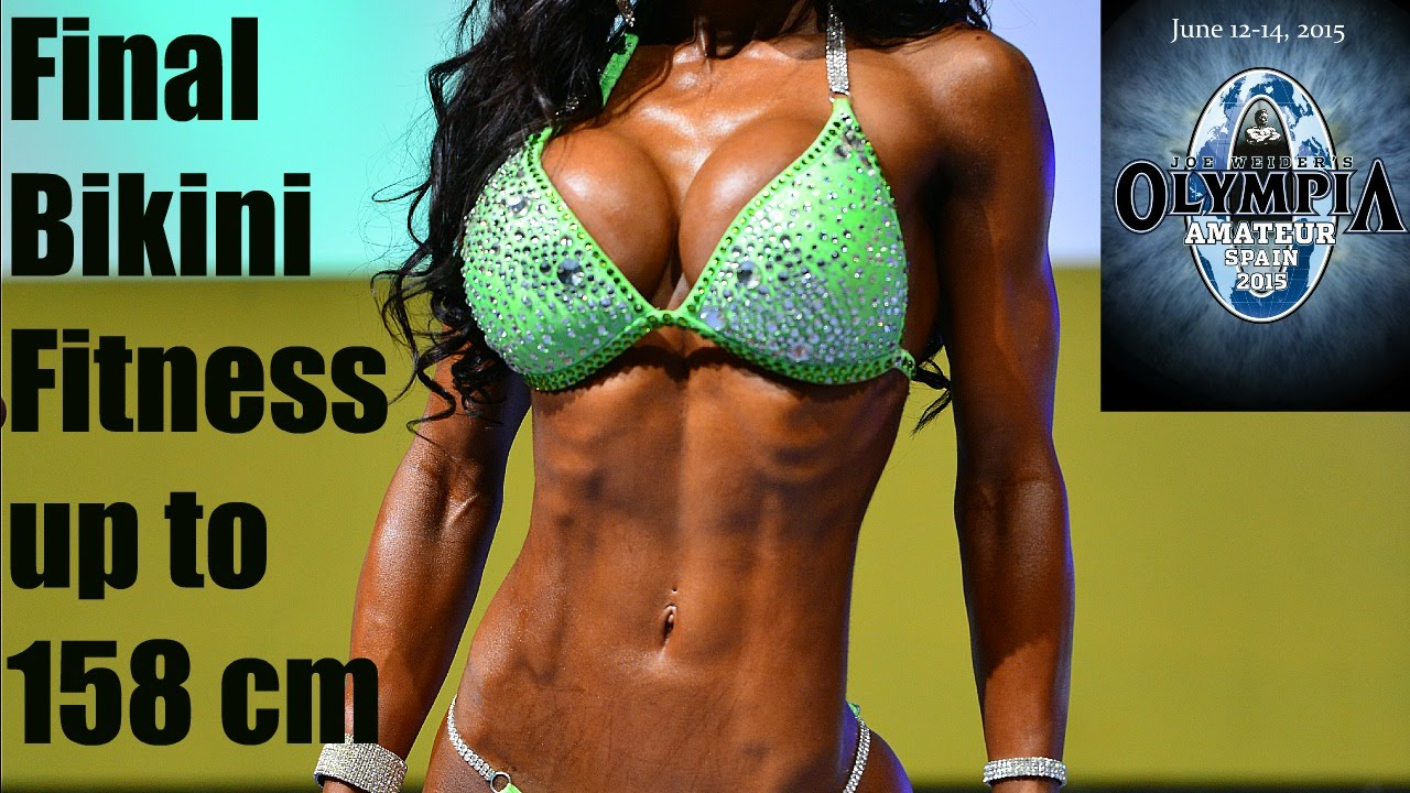 Bikini Fitness up to 158 cm – Amateur Olympia Spain 2015