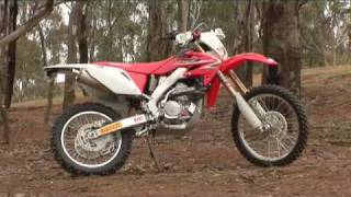 10. Bike review - Honda CRF250x 2010 - MXTV