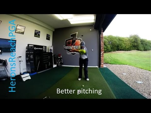 Golf lessons: Better pitching- control your distance