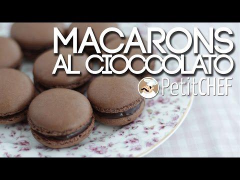 macarons al cioccolato - ricetta