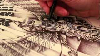 Video St. Michael vs. The Devil - Archangel Tattoo Design - Ink Drawing - Lucifer MP3, 3GP, MP4, WEBM, AVI, FLV Juni 2018