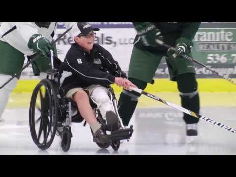 Plymouth State Men's Ice Hockey -- Team IMPACT