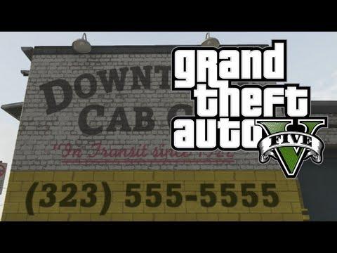 comment prendre le taxi gta v