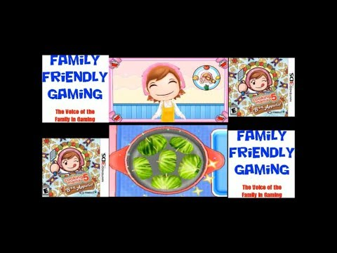 Cooking Mama 5 Bon Appetit! Cabbage Roll Tomato Soup