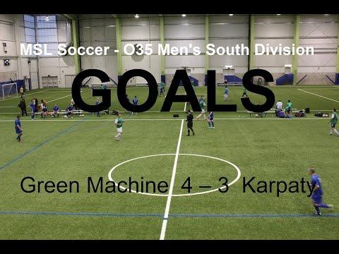 GOALS. Green Machine  4 – 3  Karpaty