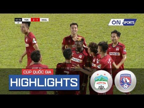 Highlights: Văn Toàn tỏa sáng, HAGL thắng nghẹt thở trước Than Quảng Ninh - Thời lượng: 5 phút và 39 giây.