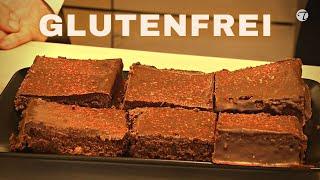 Glutenfreie Brownies aus Leinmehl