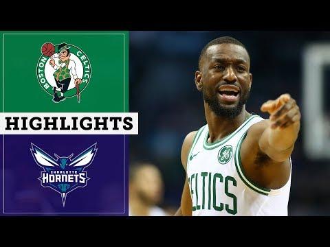 Celtics vs. Hornets Highlights   November 07, 2019   NBC Sports Boston