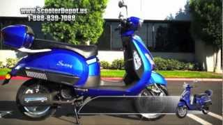 7. Motor Scooters, MC_D150S,Sunny Classic Italian Style 150cc Mopeds at ScooterDepot.us for $1,099