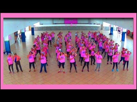 Outubro Rosa: Veja como foi a dança em Orlândia