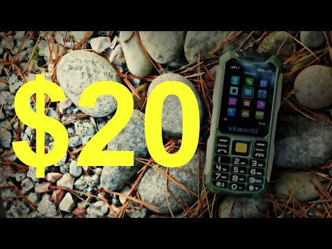 A Rugged Phone For $20? Vkworld Stone V3S Review
