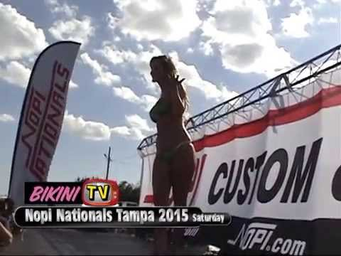 Bikini Contest Preliminary- Nopi Nationals 2015 Tampa Nopi Chic