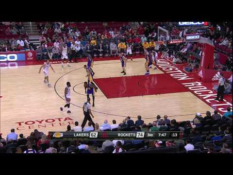 NBA Highlights: Lakers @ Rockets 12/7/2016