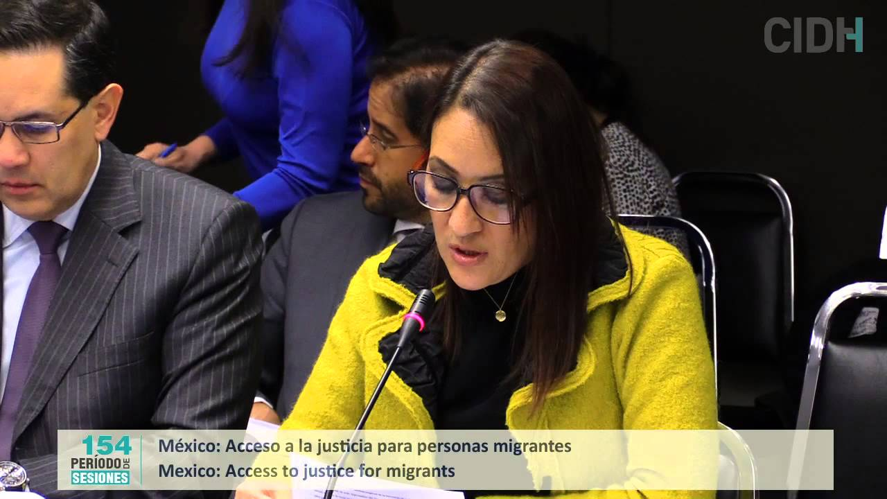 Acceso a la justicia para personas migrantes en M�xico