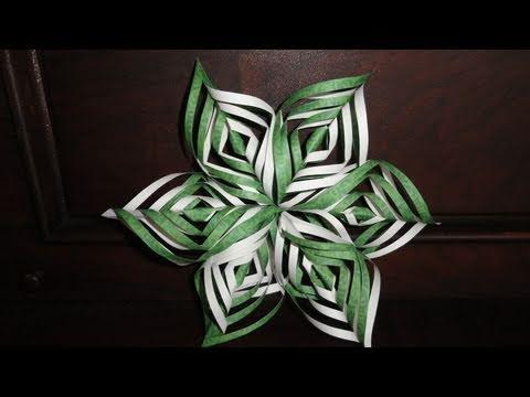come imparare a creare una decorazione 3d con la carta