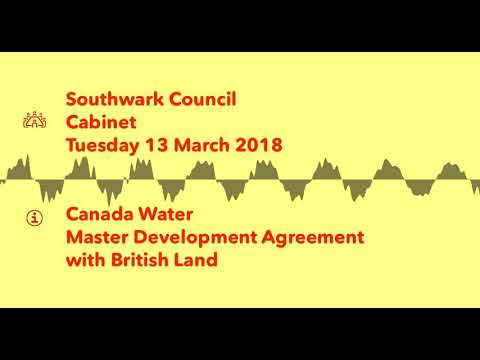 Audio Southwark Agrees Canada Water Master Development Agreement