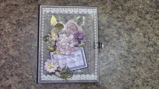 Free Mini Album Giveaway. No purchase necessary. Enter to win this Mini album I created using Ultimate Crafts Rambling Rose paper collection.  Enter through June 30, 2017.   Winner to be drawn on or before July 10, 2017.   Visit www.jshobbiesandcrafts.com to view any of the materials I used in this album.   Good Luck Everyone! - Shellie G.  J&S Hobbies and Crafts