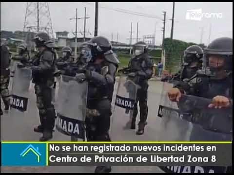 No se han registrado nuevos incidentes en centro de privación de libertad Zona 8