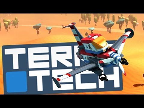 TerraTech Gameplay – Airplanes & Piracy! (Let's Play TerraTech Highlights)