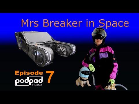 Mrs Breaker in space..Podpadstudios season 1 Episode 07. Spinner from Blade Runner