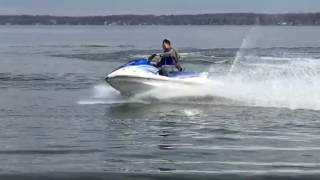 8. Yamaha waverunner VX110 2017 first run