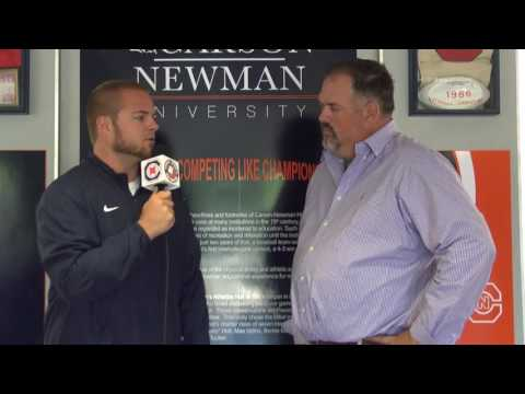 Carson-Newman Track and Field: David Needs Interview 5-23-16