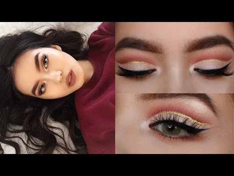 (CHIT CHAT) GRWM: GLITTER CUT CREASE (ASIAN/HOODED EYES) // NYE GLAM