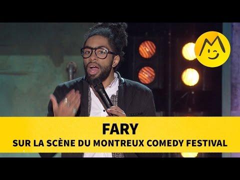 Fary sur la scène du Montreux Comedy Festival
