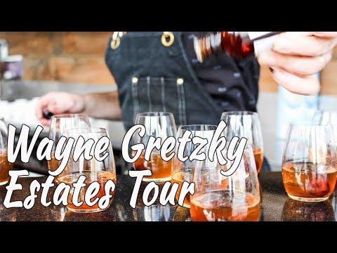 Wayne Gretzky Estates Winery + Distillery, Niagara-on-the-Lake (Pt 2) || Gastrofork.ca