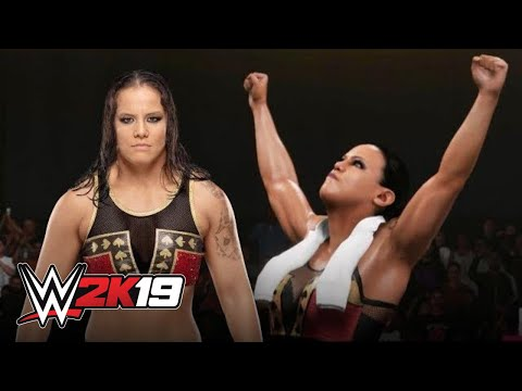 Shayna Baszler tries Ultimate Warrior's entrance in WWE 2K19