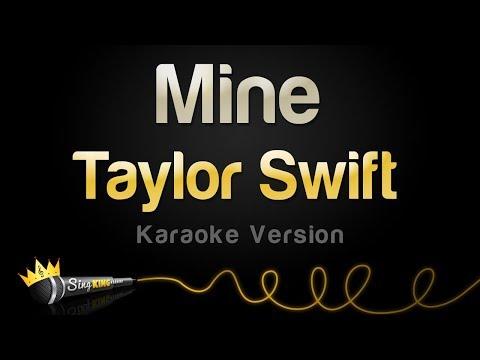 Taylor Swift - Mine (POP Mix) (Karaoke Version)