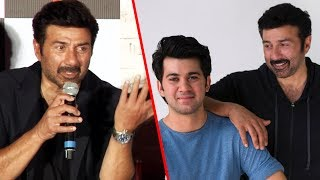 Sunny Deol Confirms To Launch His Son With His Own Production☞  Check All Bollywood Latest Update on our Channel & Subscribe  - http://bit.ly/SubscribeMoviezAdda ☞  Follow us on Twitter http://goo.gl/Z4wno5☞  Like us on Facebook https://goo.gl/8Kvkhr☞  Circle us on G+ https://plus.google.com/118018009657043521720☞  Follow us on Instagram http://goo.gl/gSysfH