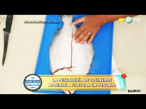 Secretos para comprar pescado fresco y para filetear meros y lenguados