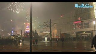 Berlin-Alexanderplatz Silvester 2014 / 2015