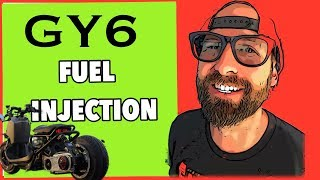 6. GY6 171cc Fuel injection Honda Ruckus project