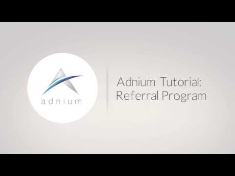 Adnium's Referral Program
