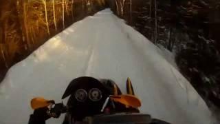 1. ski doo mach z 1000 vs mxz 800 vs mxz 500ss lake race