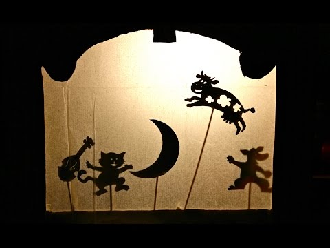 How to make your own shadow puppet theatre