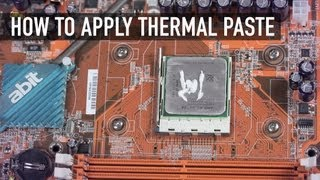 How to Apply Thermal Paste