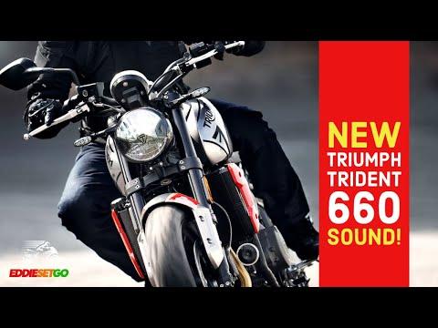 NEW Triumph Trident 660 RAW SOUND! | Triumph Motorcycle News