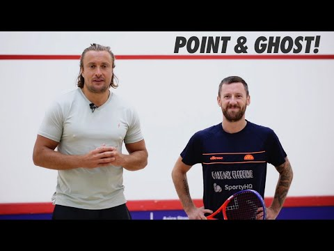 Squash tips: How to structure a ghosting session - POINT AND GHOST