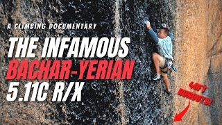 The Bachar-Yerian 5.11c R/X  -  A Rock Climbing Story by Giant Rock