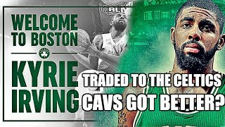 Kyrie Irving just got traded to the Celtics for Isaiah Thomas, Jae Crowder, Ante Zizic, and Brooklyn's first round pick. Did the Cavs ...