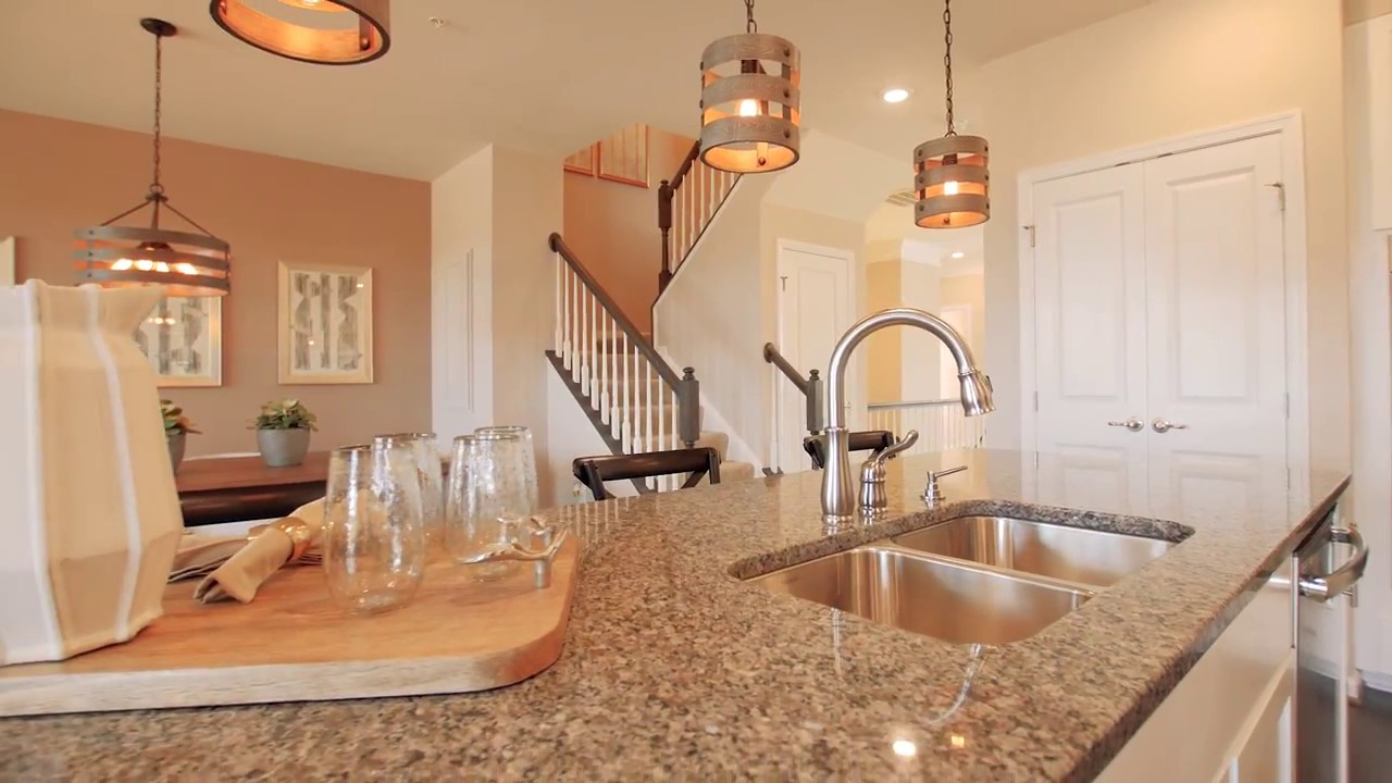 New picasso townhome model for sale at cabin branch for Cabin branch clarksburg md