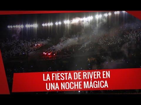 River vs Jorge Wilstermann - La fiesta de River en una noche mágica - Los Borrachos del Tablón - River Plate - Argentina - América del Sur