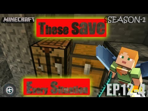 MINECRAFT SEASON 1 EPISODE - 12 PART - 4 || LIFE SAVERS ARE WITH US ?