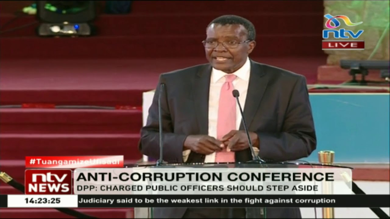 CJ Maraga on combating corruption