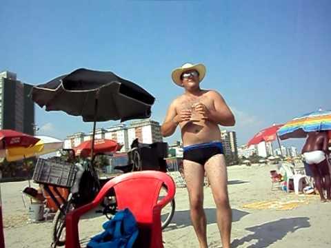 Niltinho de Nova Castilho na Praia