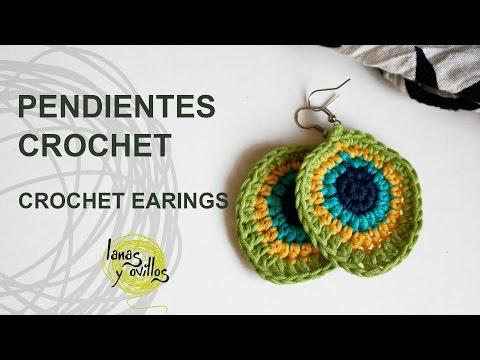 Tutorial Pendientes o Aros Crochet