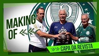 Três ídolos eternos do Verdão foram reunidos para a capa da Revista Palmeiras, que será enviada em maio para os sócios do...